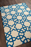 DAVIN Hand Tufted DAV-25803 Rectangular 7' x 10' Area Rug WL-0628-CR