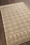 "BERLOW Hand Tufted BER-32100 Rectangular 5' x 7'6"" Area Rug WL-0430-CR"