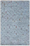 "GENNA Hand Knotted GEN-45202 Rectangular 7'9"" x 10'6"" Area Rug WL-0953-CR"