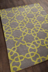 DAVIN Hand Tufted DAV-25802 Rectangular 5' x 7' Area Rug WL-0625-CR