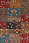 "FUSION Hand Knotted FUS-26301 Rectangular 7'9"" x 10'6"" Area Rug WL-0865-CR"