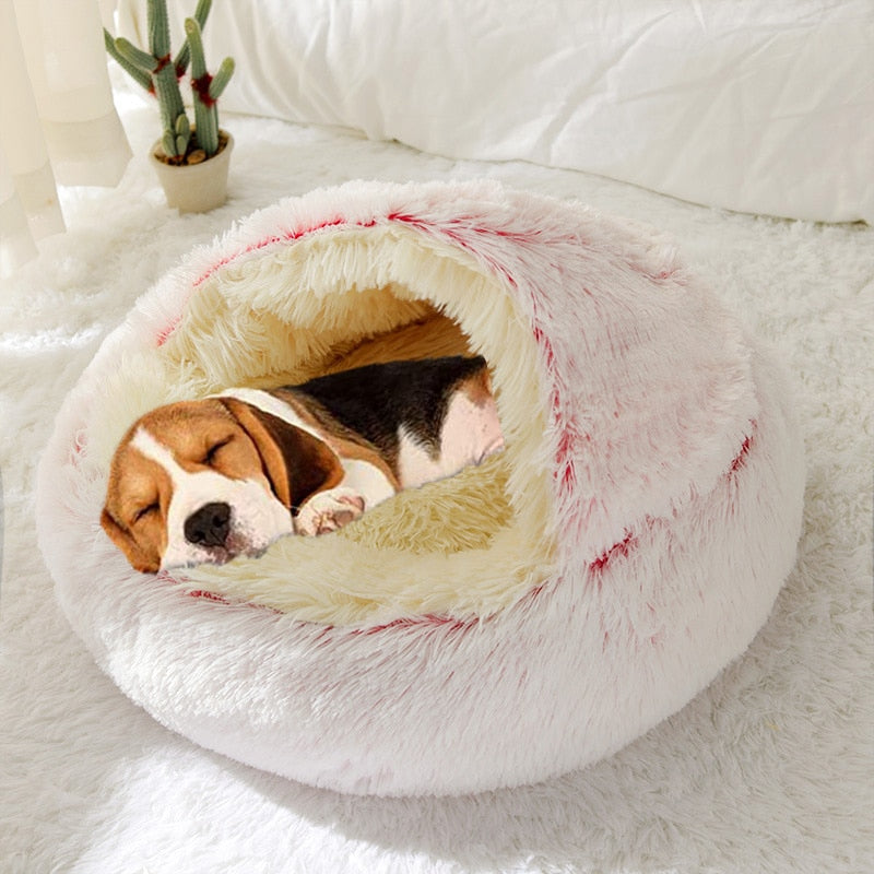 Round Dog Beds House