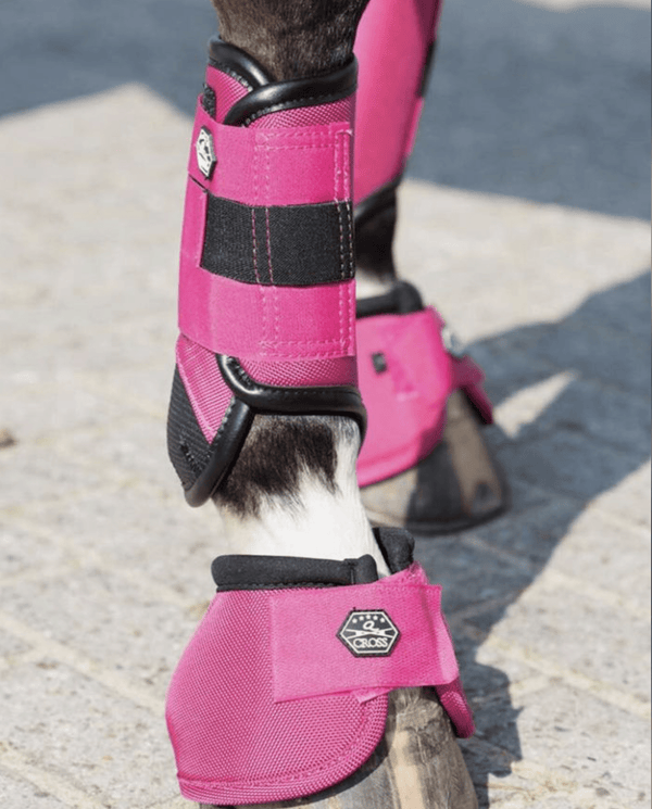 QHP Eventing XC Boots - Fronts