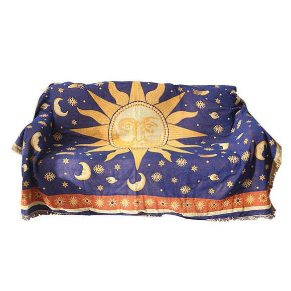 *Throw Blanket-Sun- Moon -Stars