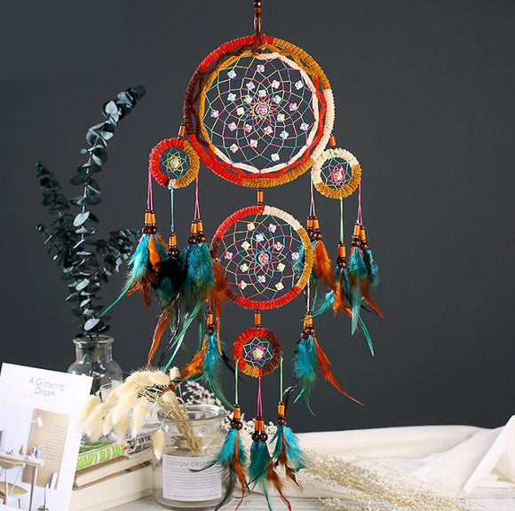 *Multi-Color Dream Catcher