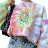 *Ray of Sunshine Tie Dye Sweatshirt - Sizes: S-3XL