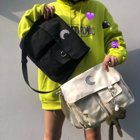 * Oversized Moon Handbag