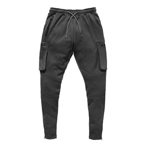 *Mens Fashion Zipper Pockets Sweatpants - 4 Designs to Choose From