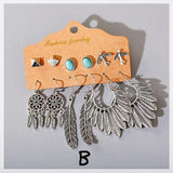 *Silver Dreamcatcher Earrings Set - 2 Sets to Choose From