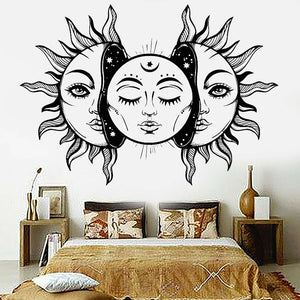 *Abstract Vinyl Wall Decal-Sun- Star- Moon