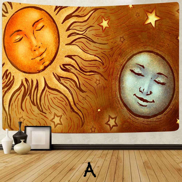 *Sun -Moon- Eclipse- Wall Hanging Tapestry-3 Different Designs