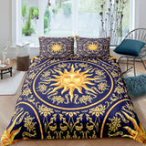 *3D-Sun-Moon & Star Comforter Duvet Covers