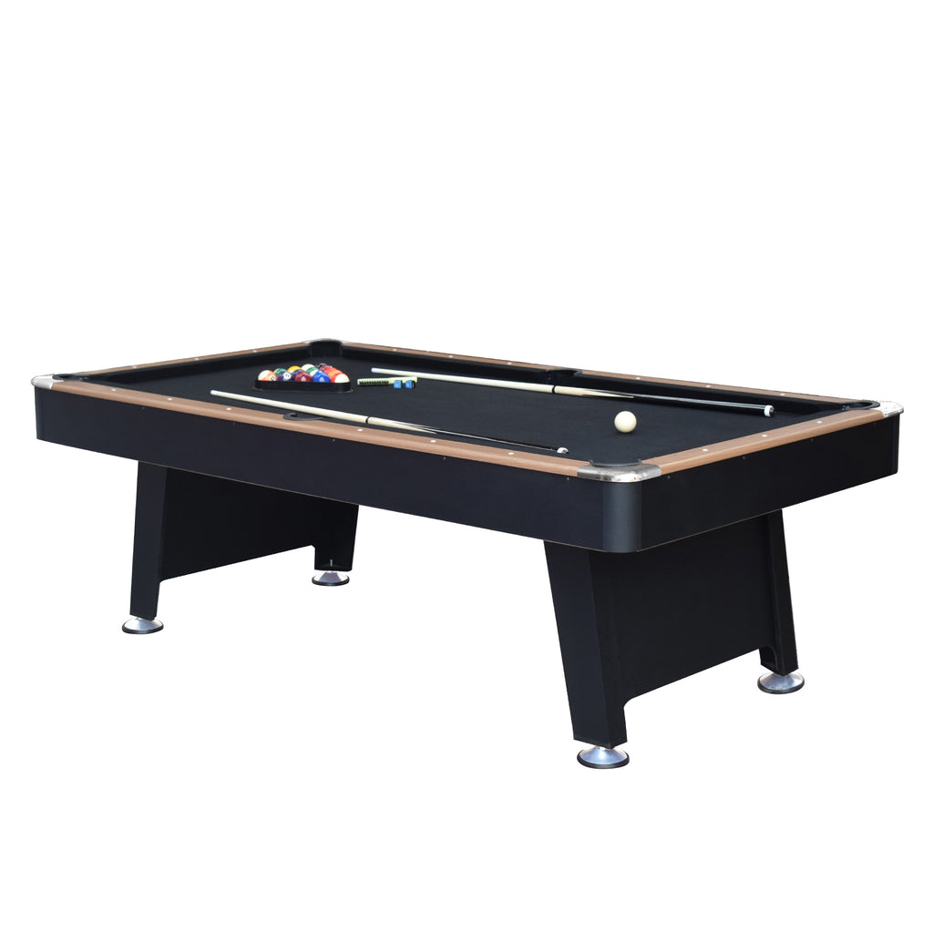 Stafford 7' 3-in-1 Combo Billiards Pool Table w/ Ping Pong & Slide Hockey