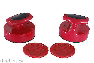 Replacement Set Carmelli Air Hockey Table Speed Pucks and Premium Strikers