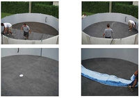 Gorilla Floor Padding for Above Ground Swimming Pools Liner Protection Pad