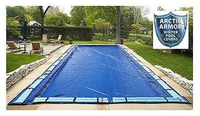 Arctic Armor Rectangular In-Ground Swimming Pool Winter Covers - All Sizes!