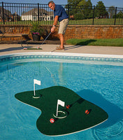 Practice Golf Floating Green and Tee for the Pool or Backyard