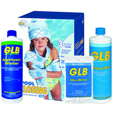 Winter Chemical Closing Kit for Swimming Pool Treat 12000 to 24000 Gallon Pools