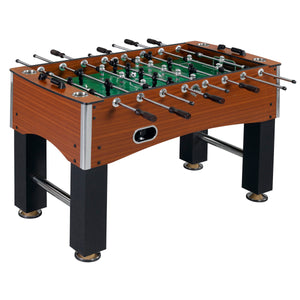 "Primo Stratford Cherry 56"" Deluxe Foosball Soccer Game Room Table"