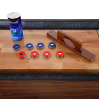 Challenger 12' Deluxe Pub Style Shuffleboard Table