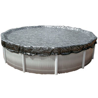 Above Ground Swimming Pool Winter Mesh Covers by HPI Round Sizes Enviro-Mesh