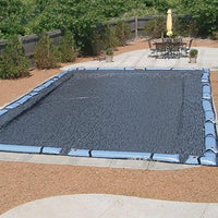 In-Ground Swimming Pool Winter Mesh Covers by HPI Rectangle Sizes Enviro-Mesh