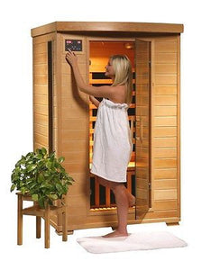 Coronado FAR Carbon Infrared Sauna Room by HeatWave