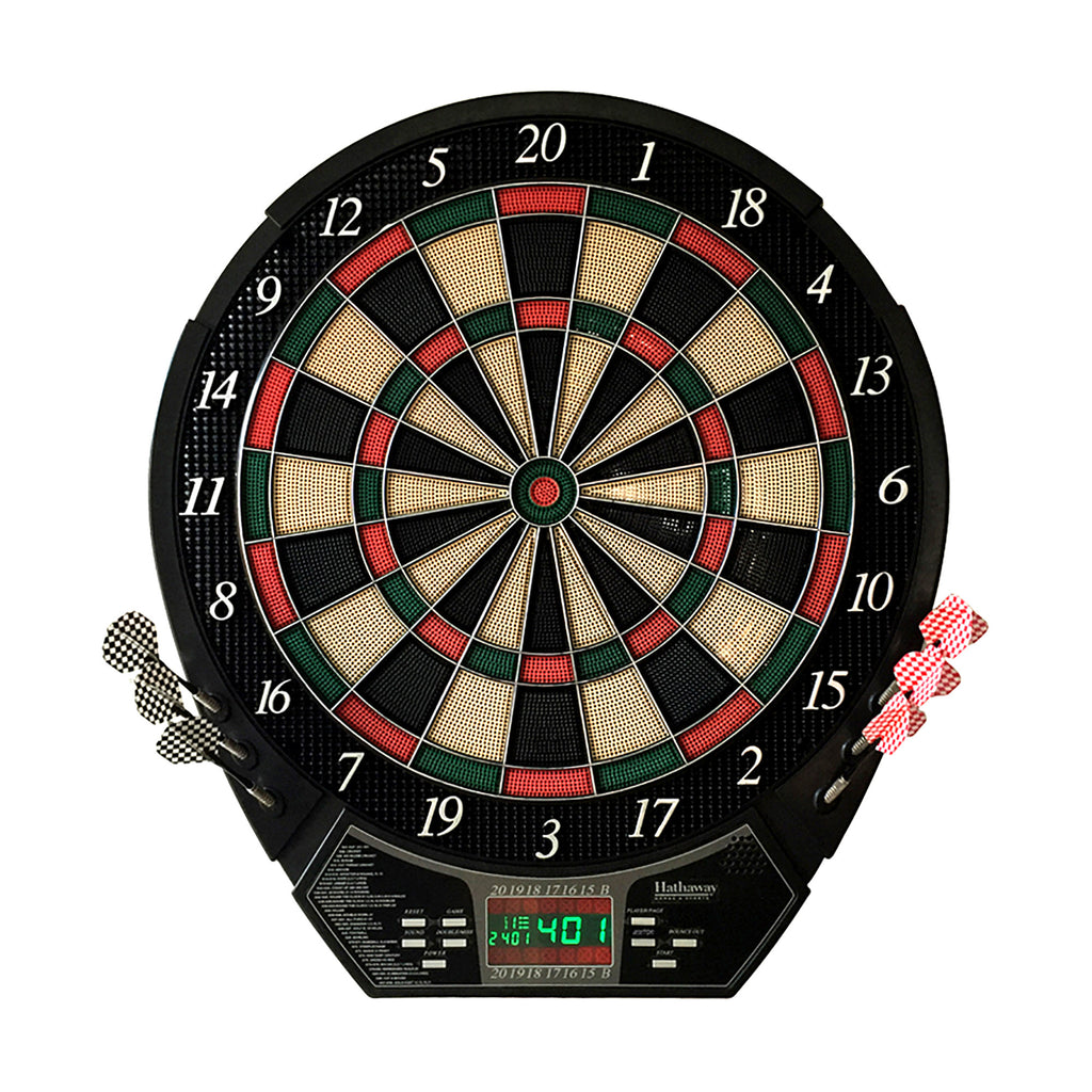 "Magnum Electronic Soft Tip Dart Board and Darts Set Official 18"" Regulation Size"