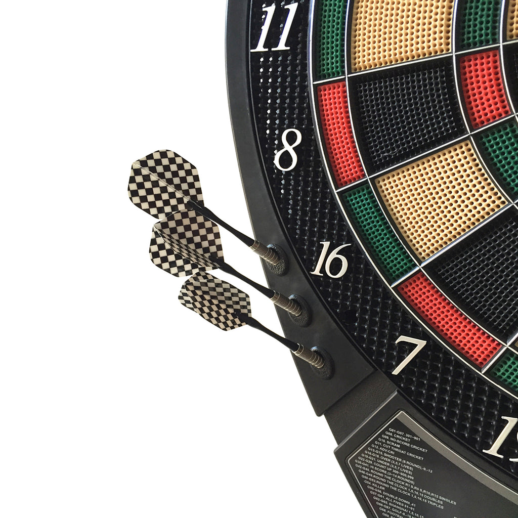 Magnum Electronic Soft Tip Dart Board And Darts Set Official 18