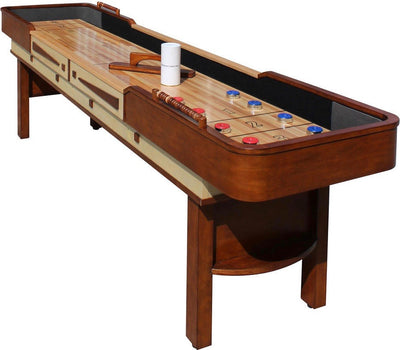 Merlot Premium Pub Style Shuffleboard Tables - ADD Delivery and Installation!