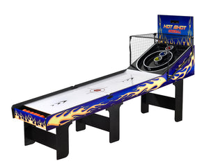 Carmelli Hot Shot Arcade Style 2 Player LED Electronic Scoring Skeeball Table