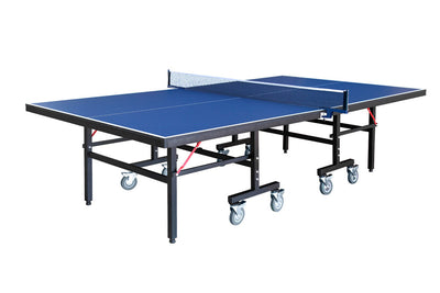 Carmelli Back Stop 9'x5' Regulation Ping Pong Table Tennis Set