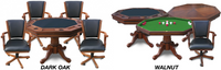 Carmelli Kingston Hardwood Poker, Dining Room, and Bumper Pool Table