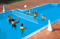 Pool Jam Volleyball Basketball Combo