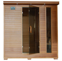 Great Bear 6 Person Cedar FAR Infrared Sauna
