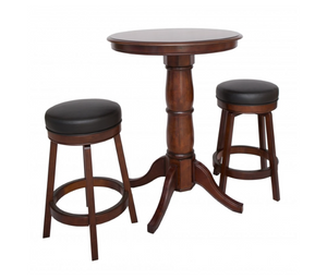 Oxford 3-Piece Hardwood Pub Table Set