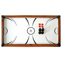Sherwood 7' Air Hockey + Table Tennis + Dining Combo Set