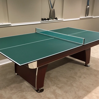 Quick Set 9' x 5' Conversion Table Tennis Ping Pong Set