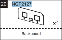 Replacement Part NGP2127 Backboard