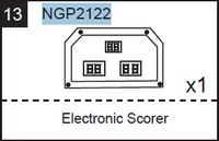 Replacement Part NGP2122 Electronic Scorer
