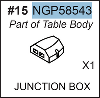 Replacement Part NGP58543 Junction Box