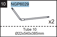 Replacement Parts NGP6029 Tube 10 Set of 2