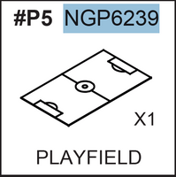 Replacement Part NGP6239 Playfield