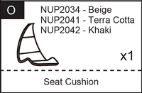 Replacement Part NUP20xx Seat Cushion