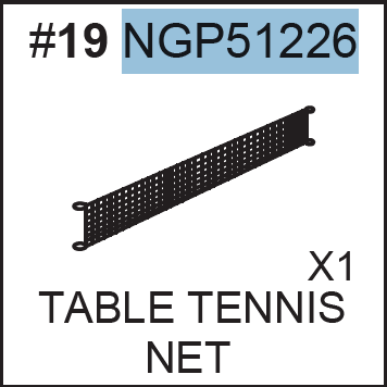 Replacement Part NGP51226 Net