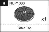 Replacement Part NUP1033 Table Top