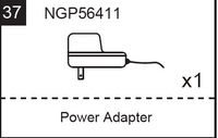Replacement Part NGP56411 Power Adapter