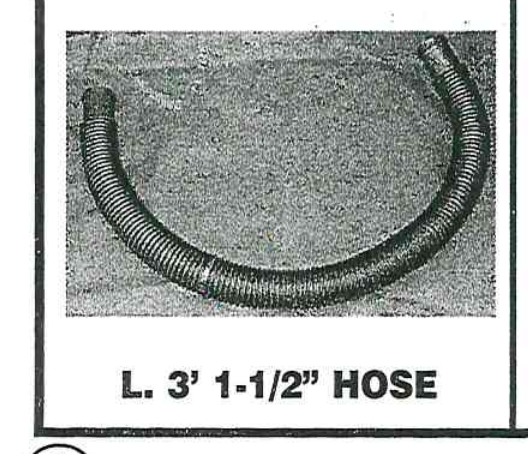 Replacement Part NEP6366 3' OEM Pump Hose