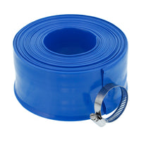 Backwash Hose for Swimming Pool Pump and Filter System