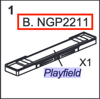 Replacement Part NGP2211 Playfield